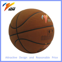 Professional basketball with cowhide leather, basketball leather ball