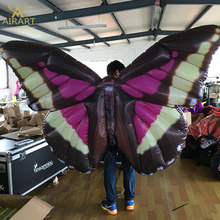 Advertising decoration product inflatable wing costume