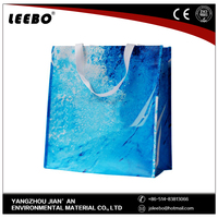 white and colorful factory price rpet bag