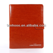 individual wonderful stylish beautiful brown leather cover diary book