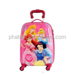 vintage and strong cartoon travel luggage bag