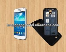 Wholesale TPU Cell Phone Accessories For Samsung Galaxy S4- BLACK-Rubber case