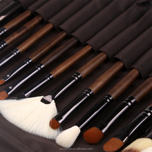 2017 best Beauty needs walnut professional 15pcs makeup brush set