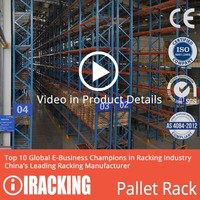 cheap and economical cold storage steel pallet rack in china Nanjing