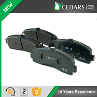 Auto Parts Wholesale Hot Sale Semi-metal Car Brake Pad with Quality Raw Material