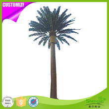 Cheap popular artificial canary island date palm tree for outdoor landscaping