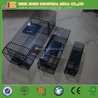 "34x10x12"" collapsibleb galvanized collapsible possum trap cage"