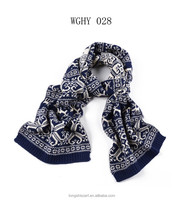 christmas knit scarf WGFT028 for women acrylic scarf fashion scarves supplier alibaba china