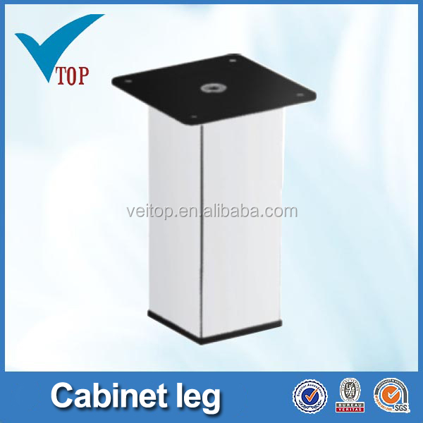 Veitop brushed l-shape steel table legs (VT-03.007)
