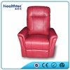 living room sofas furniture red leather recliner sofa