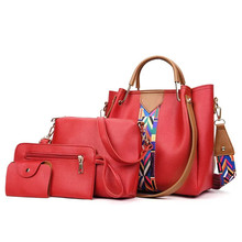 Ladies Bag Set PU Material Women Gender Women Set Bag