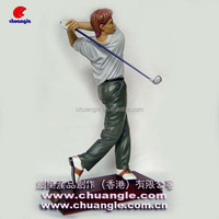 Golf Player Statue , Golf Player Action Figure , Sport Player Figurine