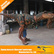 Low Cost High Quality Halloween Product hidden legs adult realistic dinosaur costume