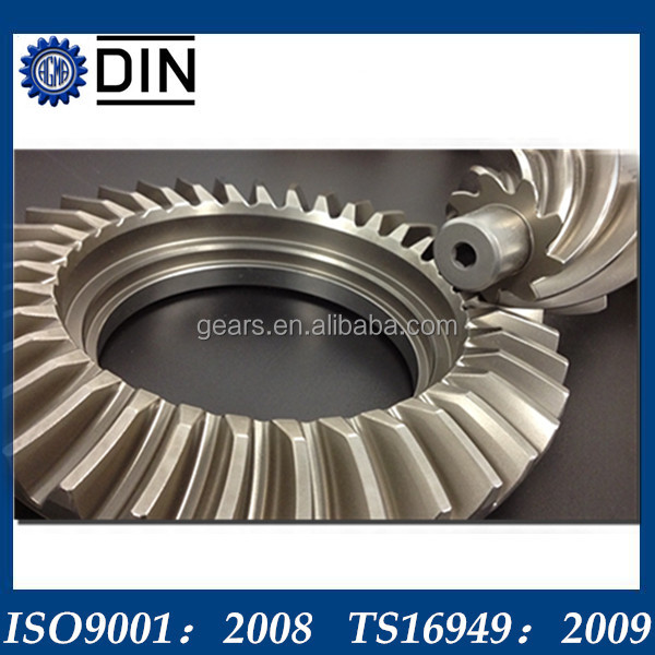 standard ratio hypoid gears with great quality