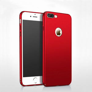 New Color Bright Red Matte PC Mobile Phone Hard Case For iPhone 7 / 7 Plus