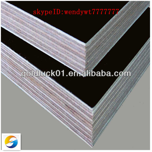18MM red pine / brown / black film faced construction plywood