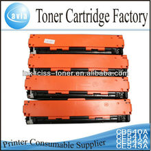 toner cartridge for hp 540-543 with cheap price