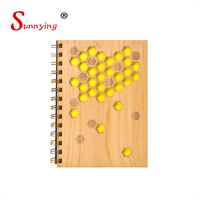School Stationery Laser Engraving Wooden Cover