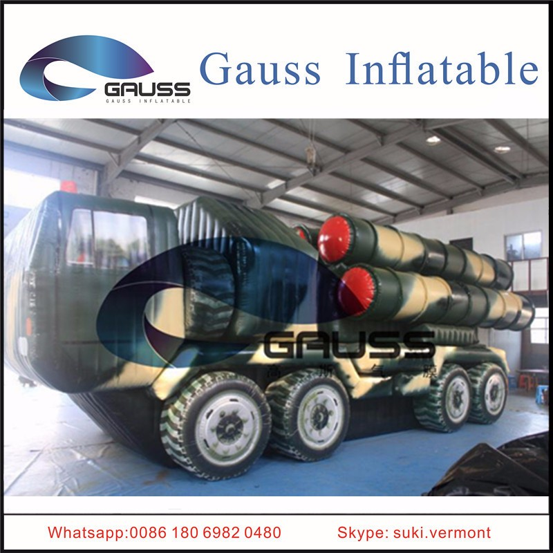 inflatable missile decoy/inflatable anti-aircraft missile/inflatable S-300