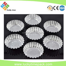 Hot selling egg tart aluminum foil container with low price