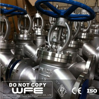 Investment Casting Carbon/stainless Steel 150lb Globe Valve