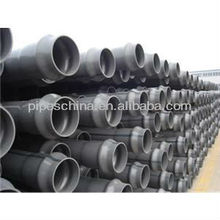 White Rigid Pvc Water Perforated Plastic U-pvc Hdpe Perforated Drainage Pipe