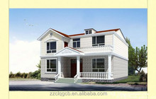 luxury wooden villas with light guage steel