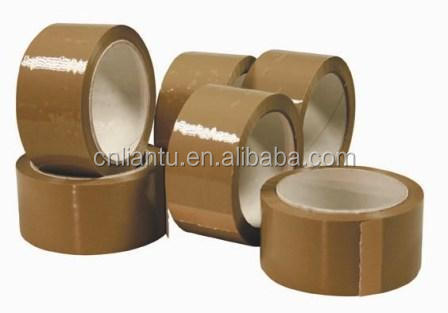 Brown Carton Sealing Bopp Packing Tape/Clear Adhesive Bopp Tape/Self Adhesive Kraft Paper Tape