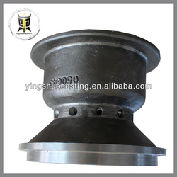 Customized cast spheroidal graphite cast iron