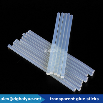 transparent hot melt resin glue stick brands