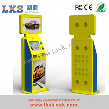 movie ticket kiosk machine with touch screen to take a ticket