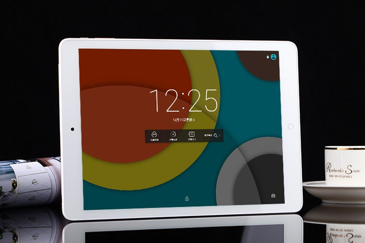 Front 2MP and Rear 5MP Camera 9.7 inch tablet Retina 2048*1536 big battery 8000mAh 2GB+16GB android 5.1 support TFcard Up to 32G