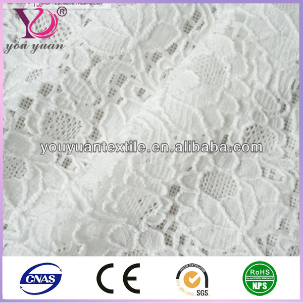 woman dress lady fashion floral guipure stretch lace fabric