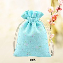 promotion 100kg small natural linen jute pouch