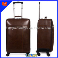 Top Grade Trolley Genuine Leather Luggage