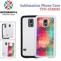 Dye Sublimation Printing Soft TPU Mobile Phone Cases for Samsung Galaxy S5 MINI