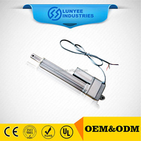 Mini Size 12V 24V DC Motor Waterproof Linear Actuator