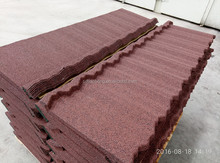 hot selling nigeria colorful stone coated metal roofing tile / metal corrugated tile roofing