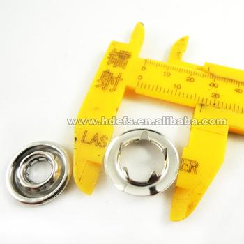 17mm five paw prong button/ spring snap button