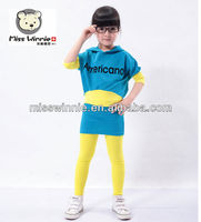 OEM&ODM baby clothing custom suit manufacture Girls Clothing set Casual Cotton Children Wear Fancy Kids Suits