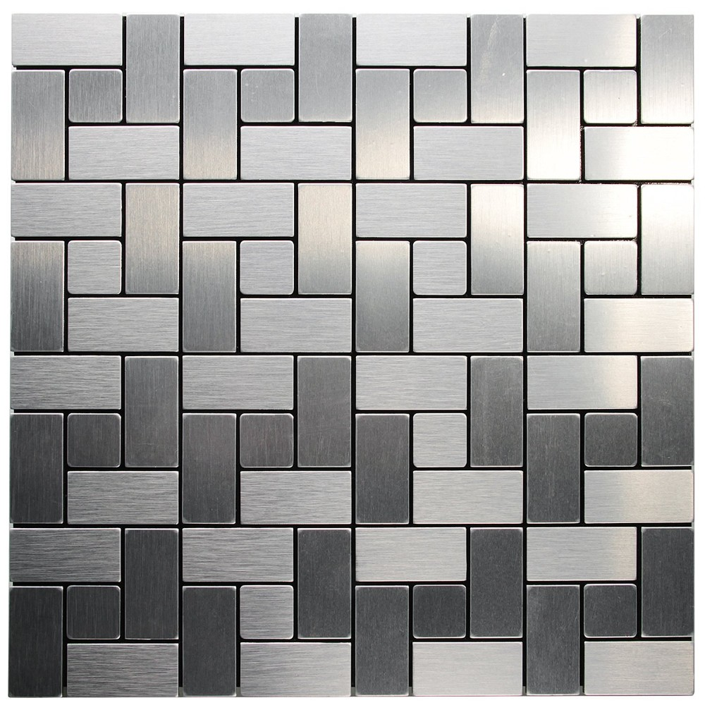 Hangzhou Royllent peel stick tile metal decorative mosaic