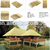 factory supply Hot sale Hollow PE Roof Tiles Artificial Thatch Roof