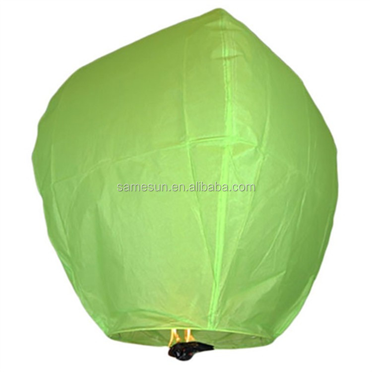 Biodegradable Chinese Paper Sky Lantern