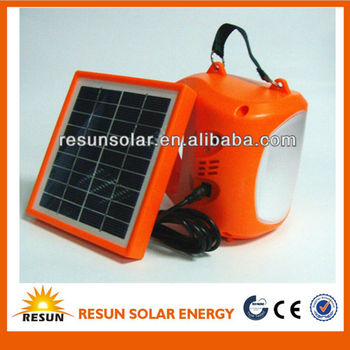 hot sale in Russia high quality and portable solar-powered light