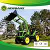 High quality CE 50hp tractor with backhoe and loader
