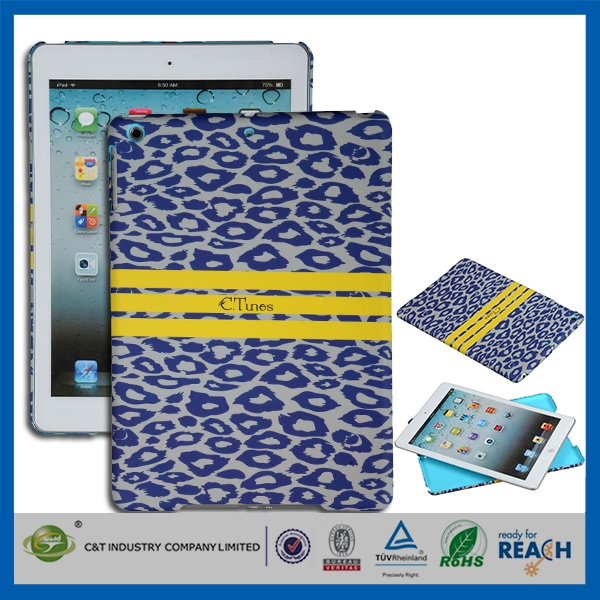sublimation cell phone case/cover printing groove hard case for ipad mini