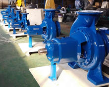 open impeller centrifugal pumps for pulp