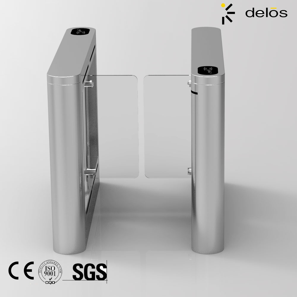 Swing barrier of compangy main gate designs