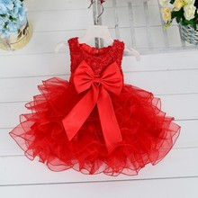 New Arrival 1-5 Years Baby Girl Fashionable Birthday Party Dress Layered Toddlers Clothing L1819XZ