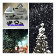 china wholesale 1500W snow machine effect for grand miusic show